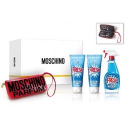MOSCHINO FRESH COUTURE EDT 100 ML + B/LOC 100 + GEL 100 ML + KIT MANICURA