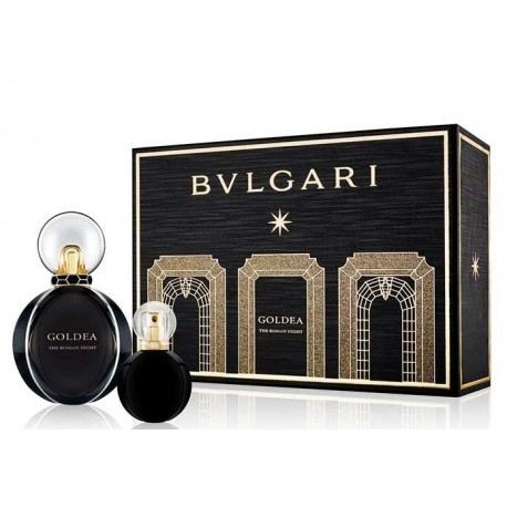 comprar perfume BVLGARI GOLDEA THE ROMAN NIGHT EDP 50 ML + EDP 15 ML SET REGALO danaperfumerias.com