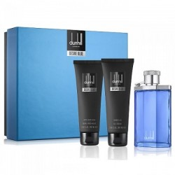 DUNHILL DESIRE BLUE EDT 100 ML + A/ S BALM 90 ML + S/GEL 90 ML SET REGALO danaperfumerias.com/es/