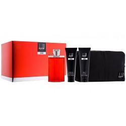 comprar perfumes online hombre DUNHILL DESIRE RED MEN EDT 100 ML + A/S BALM 90 ML + GEL 90 ML + NECESER SET REGALO
