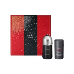 CARTIER PASHA NOIRE EDITION EDT 100 ML + DEOSTICK 75 ML SET REGALO