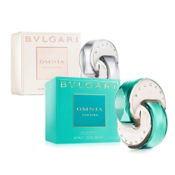 BVLGARI OMNIA CRYSTALLINE EDT 40 ML + OMNIA PARAIBA EDT 40 ML SET REGALO