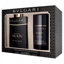 BVLGARI MAN IN BLACK EDP 100 ML + DEO STICK 75 ML SET REGALO