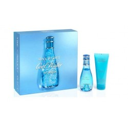 comprar perfume DAVIDOFF COOL WATER WOMAN EDT 50 ML + B/L 75 ML SET REGALO danaperfumerias.com