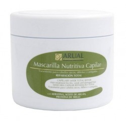 ARUAL MASCARILLA NUTRITIVA CAPILAR KERATINA-ACEITE DE ARGAN 500 ML danaperfumerias.com/es/