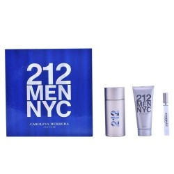 CAROLINA HERRERA 212 MEN EDT 100 ML + A/S 100 + MINI 10 ML