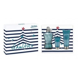 JEAN PAUL GAULTIER JPG LE MALE EDT 125 ML + SG 75 ML + AS 50 ML SET