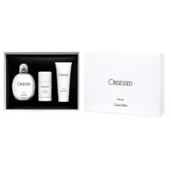 comprar perfume CALVIN KLEIN CK OBSESSED FOR MEN EDT 125 ML+ B/L + DEO STICK SET REGALO danaperfumerias.com