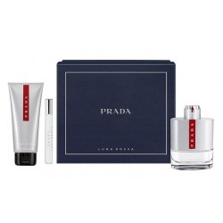 PRADA LUNA ROSSA EDT 100 ML VP + ASB 100 ML + EDT 10 ML VP SET