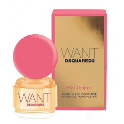 DSQUARED WANT PINK GINGER EDP 100 ML