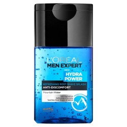 Comprar productos de hombre L´OREAL MEN EXPERT HYDRA POWER LOCION REFRESCANTE POST-SHAVE 125 ML danaperfumerias.com
