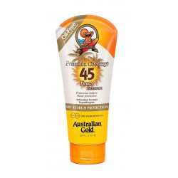 AUSTRALIAN GOLD PREMIUM COVERAGE PROTECCION SOLAR FACIAL SPF 45 88 ML danaperfumerias.com