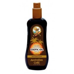 AUSTRALIAN GOLD DARK TANNING EXOTIC OIL SPRAY ACELERADOR DEL BRONCEADO 237 ML