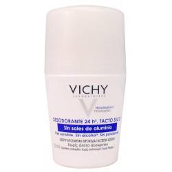 VICHY DESODORANTE 24 H. SIN SALES DE ALUMINIO 50 ML