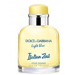 DOLCE & GABBANA LIGHT BLUE ITALIAN ZEST POUR HOMME EDT 125 ML