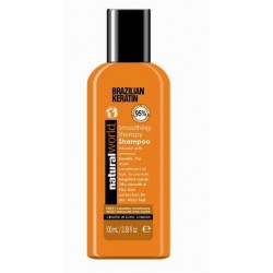 NATURAL WORLD BRAZILIAN KERATIN OIL SMOOTHING THERAPY SHAMPOO 100 ML