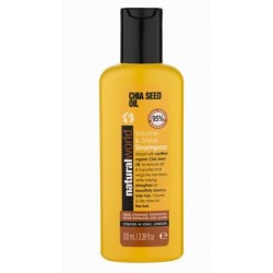 NATURAL WORLD CHIA SEED OIL VOLUME & SHINE  SHAMPOO 100 ML