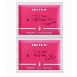 BETER TOALLITAS QUITAESMALTES 10 UNID. danaperfumerias.com/es/