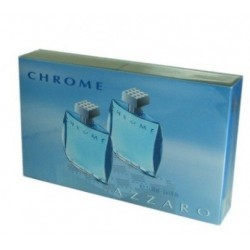 AZZARO CHROME EAU DE TOILETTE SPRAY 2X30ML danaperfumerias.com/es/