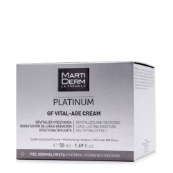 MARTIDERM PLATINUM VITAL AGE CREMA PIEL NORMAL 50 ML