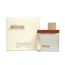 comprar perfume DSQUARED SHE WOOD VELVET FOREST WOOD EDP 30 ML danaperfumerias.com