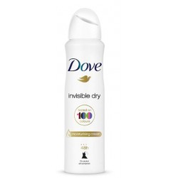 DOVE DESODORANTE MUJER INVISIBLE DRY VAPORIZADOR 200 ML