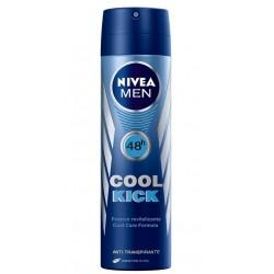 NIVEA DESODORANTE FOR MEN SPRAY COOL KICK 200 ML danaperfumerias.com/es/