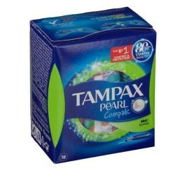 comprar productos higiene TAMPAX COMPAK PEARL TAMPON SUPER 18 UNIDADES