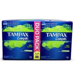 comprar productos higiene TAMPAX COMPAK TAMPONES SUPER 36 UNIDADES