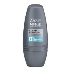 DOVE MEN DESODORANTE CLEAN CONFORT 0% ROLL ON 50 ML https://danaperfumerias.com/es/