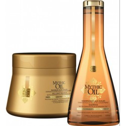 comprar acondicionador L´OREAL MYTHIC OIL CHAMPU C/NORMALES 250 ML + MASCARILLA 200 ML SET REGALO