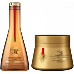 comprar acondicionador L´OREAL MYTHIC OIL CHAMPU C/FINOS 250 ML + MASCARILLA 200 ML SET REGALO