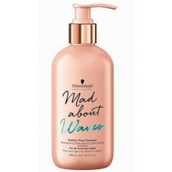 SCHWARZKOPF MAD ABOUT WAVES CHAMPU SIN SULFATOS 300ML danaperfumerias.com/es/