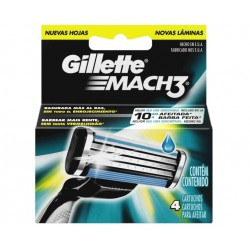 GILLETTE RECAMBIO GILLETTE MATCH 3 4 UNIDADES danaperfumerias.com/es/