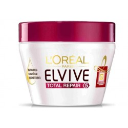L'OREAL ELVIVE TOTAL REPAIR 5 MASCARILLA RECONSTITUYENTE 300ML