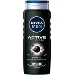 NIVEA MEN GEL DE DUCHA ACTIVE CLEAN 500ML