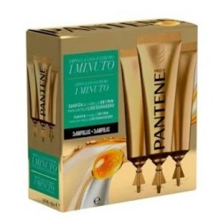 PANTENE AMPOLLA CAPILARES SUAVE Y LISO 1 MINUTO 3X 15ML
