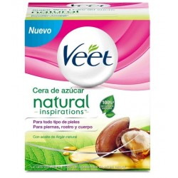 VEET CERA DE AZUCAR NATURAL 250ML