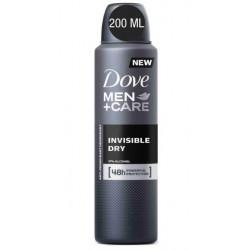 DOVE DESODORANTE FOR MEN INVISIBLE DRY SPRAY 200 ML