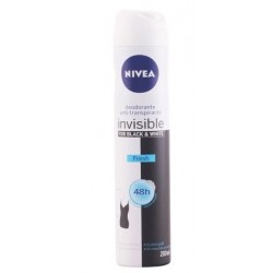 NIVEA FOR BLACK & WHITE INVISIBLE FRESH DEO 200 ML danaperfumerias.com/es/