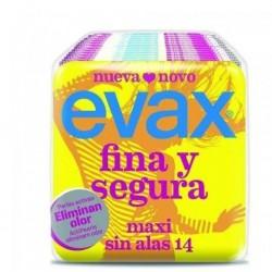 EVAX FINA Y SEGURA COMPRESAS SUPER SIN ALAS 14 UNIDADES danaperfumerias.com/es/