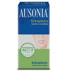 AUSONIA COMPRESA EXTRAPLANA 18 UNIDADES danaperfumerias.com/es/