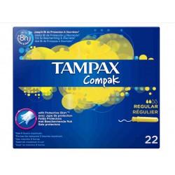 TAMPAX COMPAK TAMPONES REGULAR 22 UNIDADES https://danaperfumerias.com/es/