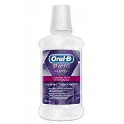 ORAL B 3D WHITE LUXE ENJUAGUE BUCAL 500ML