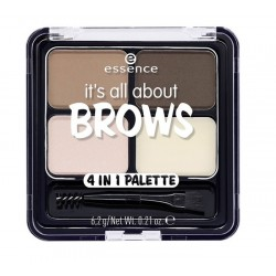 ESSENCE IT'S ALL ABOUT BROWS PALETA 4 EN 1 PARA CEJAS