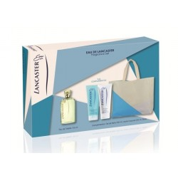 comprar perfume EAU DE LANCASTER EDT 125 ML + B/L 200 ML + GEL 200 ML + BOLSO SET REGALO danaperfumerias.com