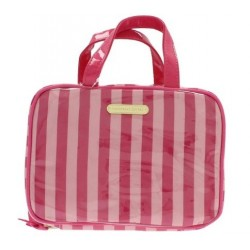 VICTORIA'S SECRET SMALL HANGING  WEEKENDER STRIPE NECESER