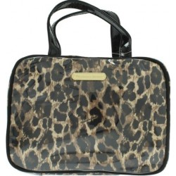 VICTORIA'S SECRET SMALL HANGING  WEEKENDER LEOPARD NECESER