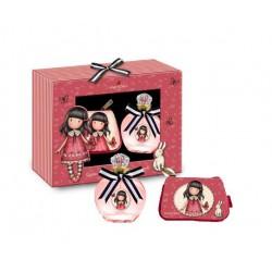 Comprar perfumes online set GORJUSS TIME TO FLY EDT 50 ML+ MONEDERO