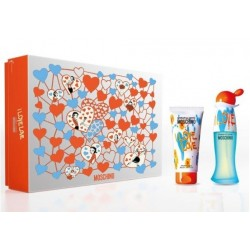 comprar perfume MOSCHINO CHEAP & CHIC I LOVE LOVE EDT 30 ML + B/LOC 50 ML SET REGALO danaperfumerias.com